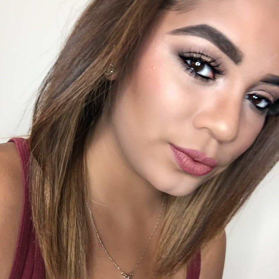 Simple Glam Makeup Look - Jasmine Maria