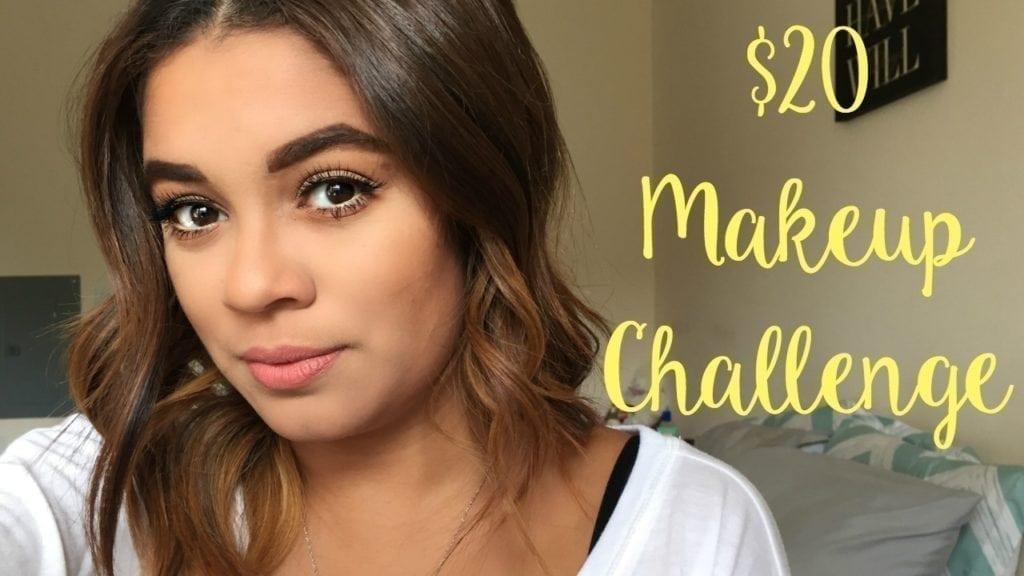 20 Makeup Challenge - Jasmine Maria