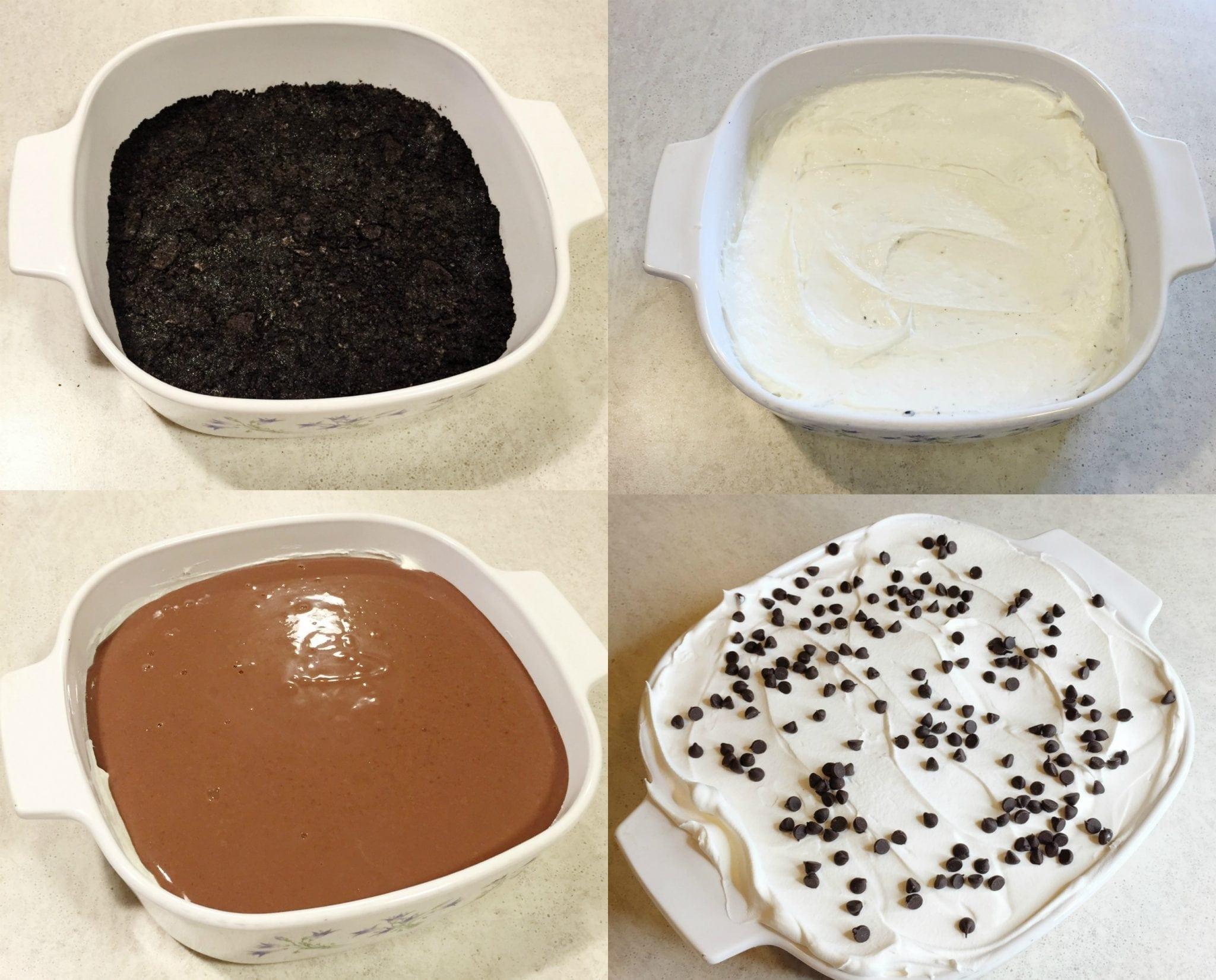 Chocolate Lasagna - Jasmine Maria